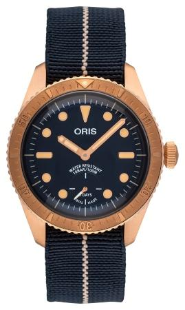Oris Divers Carl Brashear Calibre 401 Limited Edition in der Version 01 401 7764 3185-Set