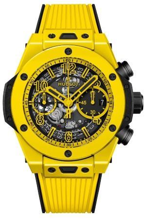 Hublot Big Bang Unico Yellow Magic 42mm in der Version 441-CY-471Y-RX Watches and Wonders Geneva 2021