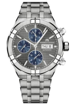 Maurice Lacroix Aikon Automatic Chronograph 44mm in der Version AI6038-TT032-330-1 Watches and Wonders Geneva 2021