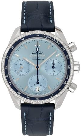 Omega Speedmaster 38 Co-Axial Chronograph 38mm in der Version 324-38-38-50-03-001