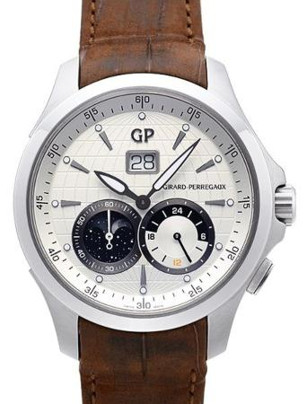 Girard Perregaux Traveller Large Date Moonphase GMT in der Version 49655-11-132-BB6A