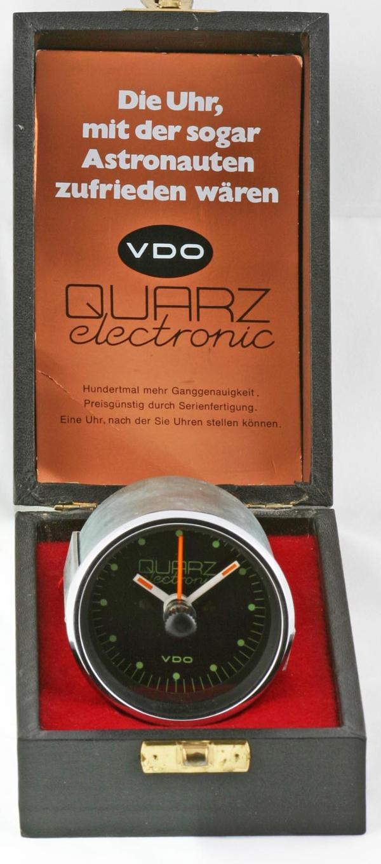 Die erste Quarzuhr für Autos von VDO - Albert Keck