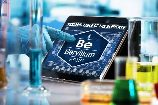 Beryllium als Teil der Nivarox-Legierung