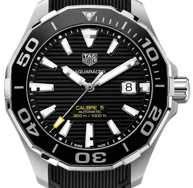 Tag Heuer Aquaracer 300m Calibre 5 Automatik 43mm - Hochfrequente und niederfrequente Uhren