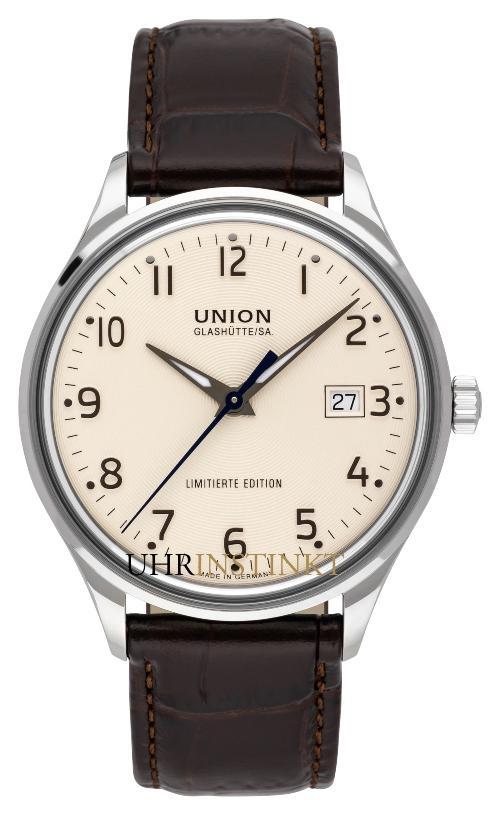 Union Glashütte Noramis Datum Limitierte Edition Deutschland Klassik 2019
