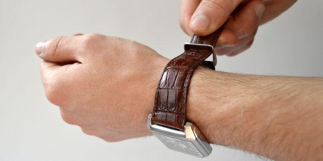 Armbanduhr Dornschließe
