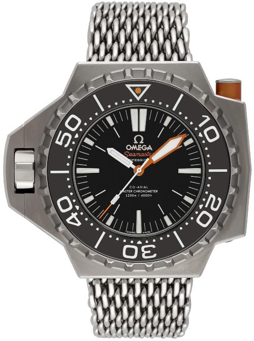 Omega Seamaster Ploprof 1200 M Co-Axial Master Chronometer 55x48mm Modell Nr.: 227.90.55.21.01.001