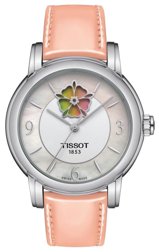 Tissot T-Lady Heart Flower Powermatic 80 - Weihnachtsgeschenke 2020 für Damen