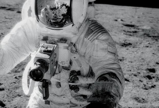 Astronaut Alan Bean während Apollo 12, November 1969