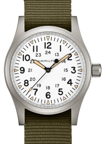 Hamilton Khaki Field Mechanical - Toolwatch