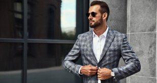 Business Mann mit Quarzuhren für Herren