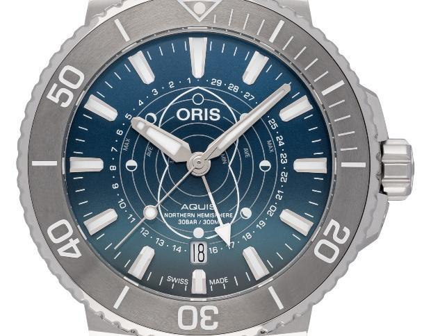 Oris Aquis Dat Watt Limited Edition