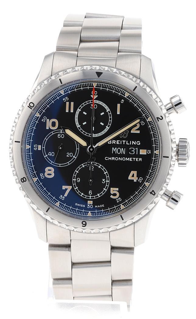 Breitling Aviator 8 Chronograph 43 - Verschiedene Uhrentypen