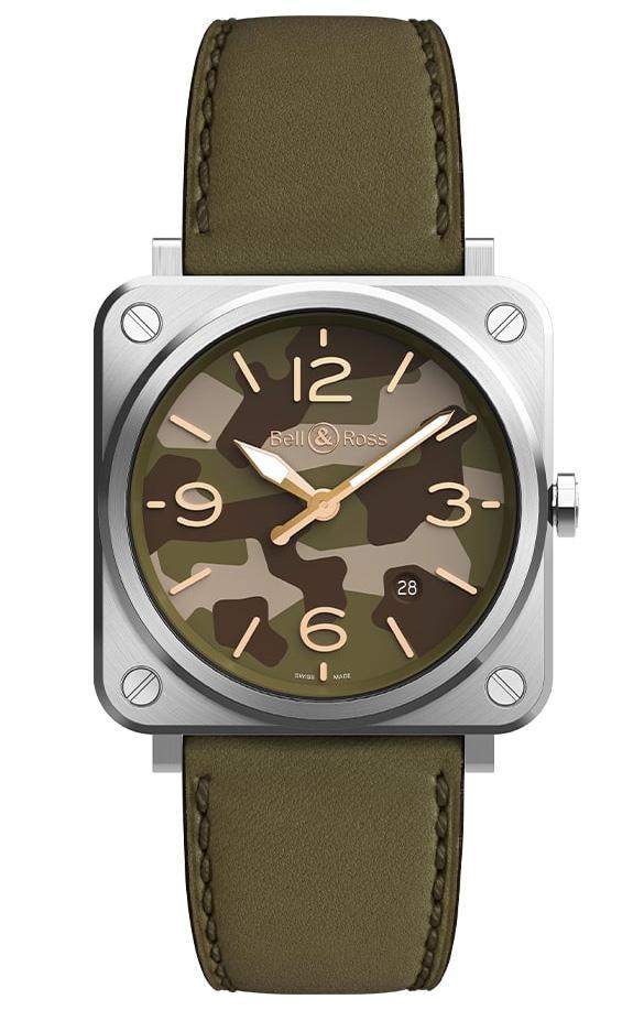 Bell & Ross BR S GREEN CAMO - Verschiedene Uhrentypen