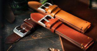 Lederarmbänder einer Uhr - Uhrenband wechseln