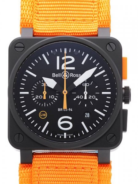 Bell & Ross BR 03-94 Carbon Orange Limited Edition