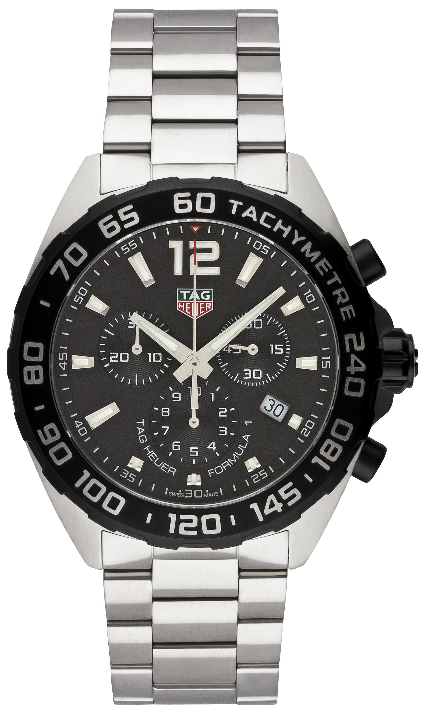Tag Heuer Formula 1 Quarz Chronograph 43mm - CAZ1010.BA0842 ...