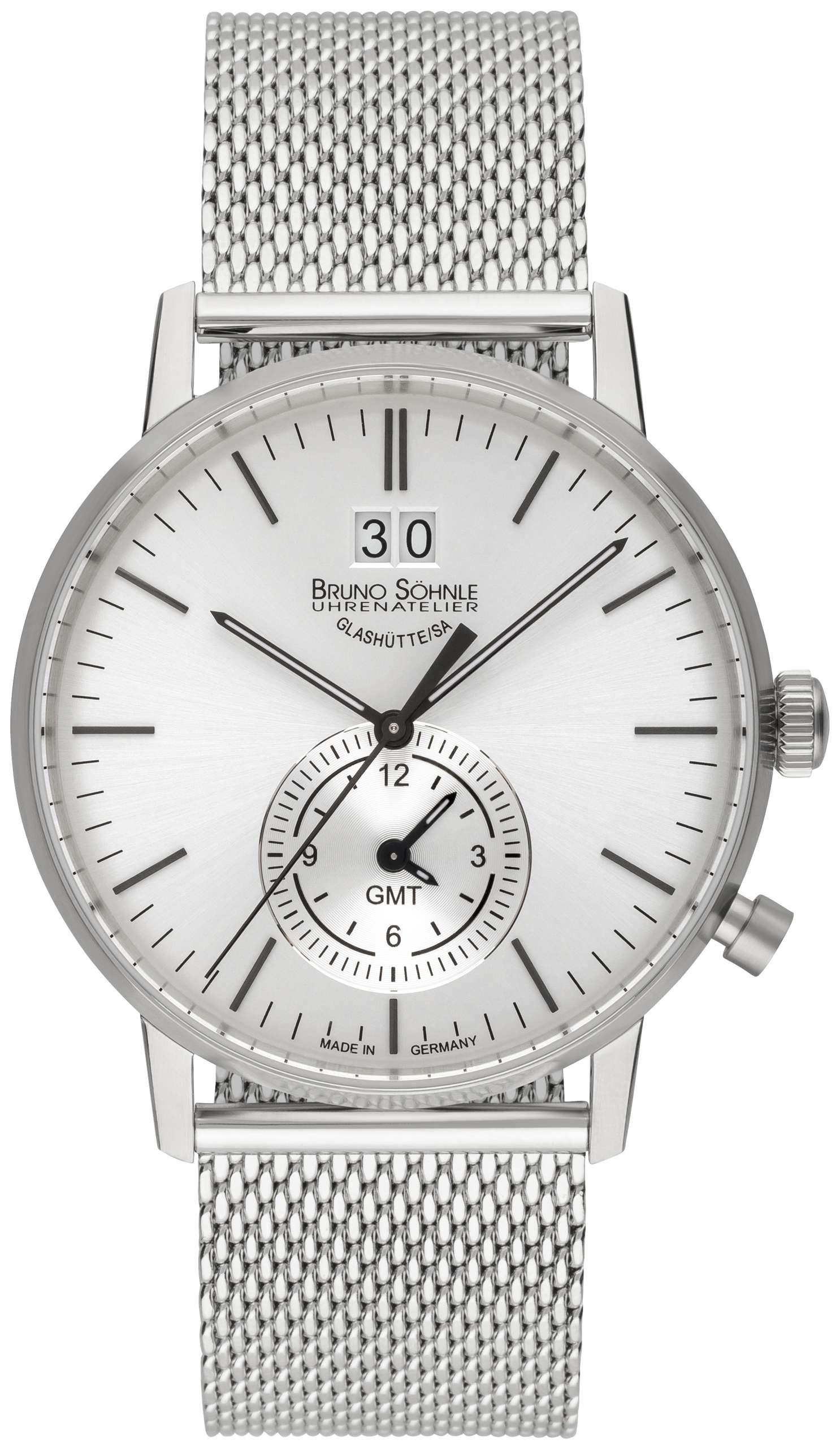 Bruno Söhnle Herrenuhr Stuttgart GMT