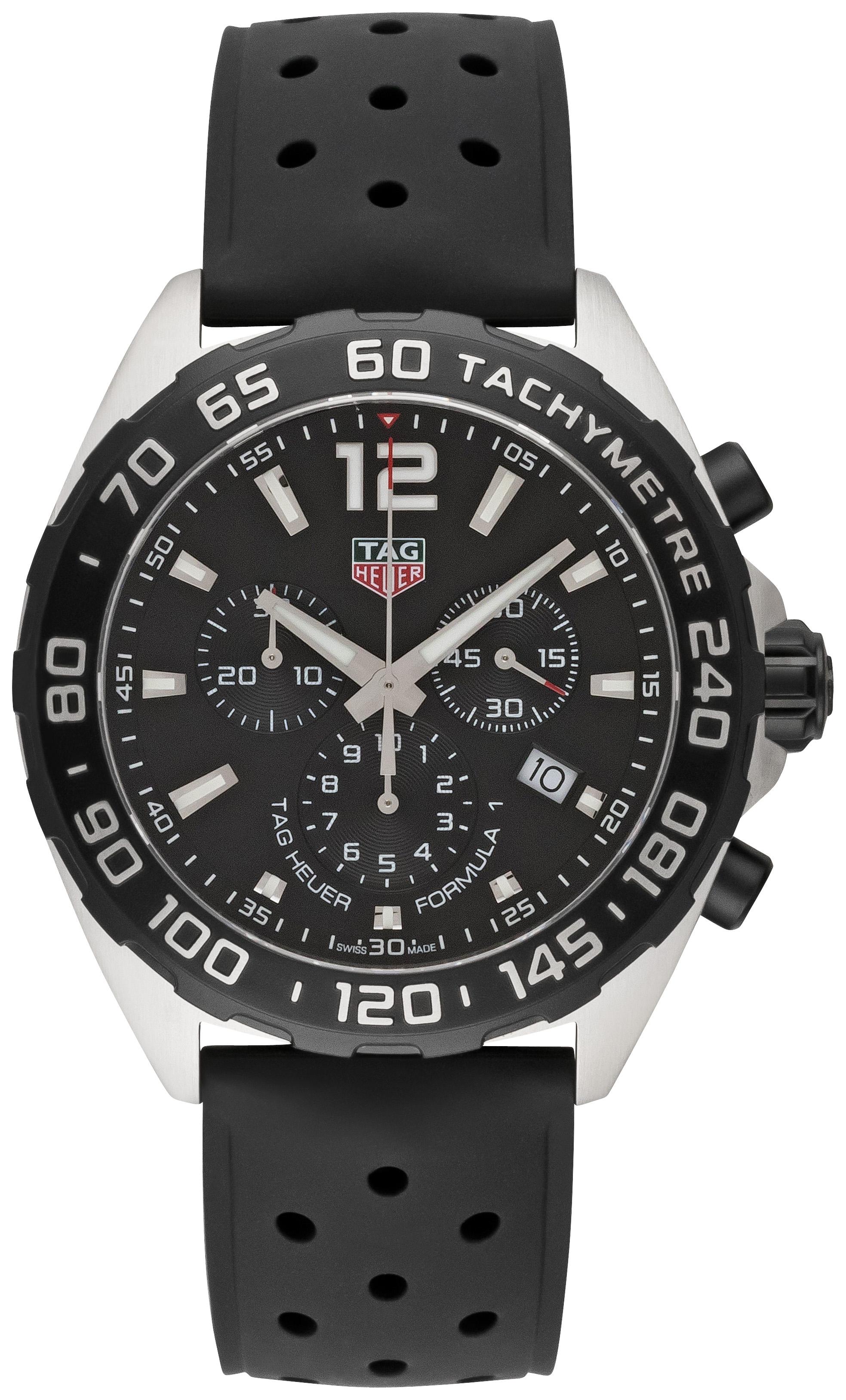 Tag Heuer Formula 1 Quarz Chronograph 43mm - CAZ1010.FT8024 ...