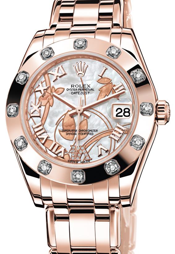 Rolex Damenuhr Rosegold
