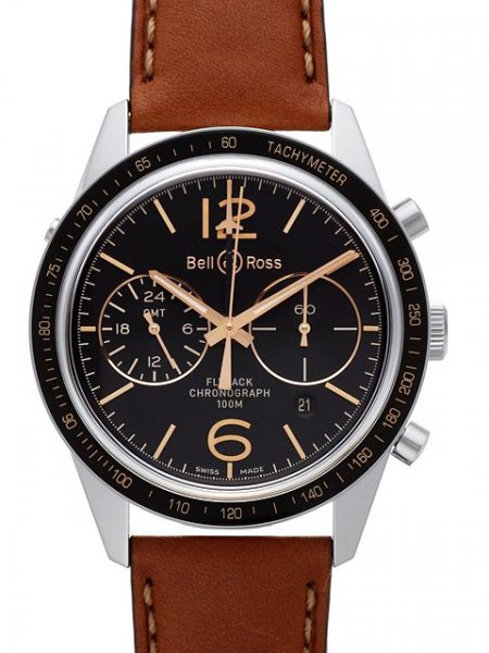 Bell & Ross BR 126 Sport Heritage GMT & Flyback Limited Edition
