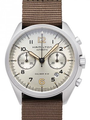 Hamilton Khaki Aviation Pilot Pioneer Chrono