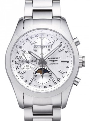 Longines Conquest Gents Automatik Mondphase