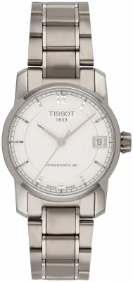 Tissot T-Classic Titanium Automatic Ladies