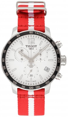 Tissot T-Sport Quickster Chronograph NBA Atlanta Hawks Special Edition