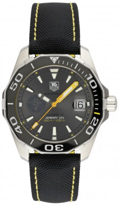 Tag Heuer Aquaracer Calibre 5 Automatik 41mm Jeremy Lin Sonderedition